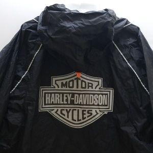 HARLEY DAVIDSON MEN'S RAIN JACKET